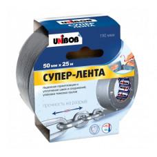 Армированный скотч UNIBOB 50 мм х 25 м серый